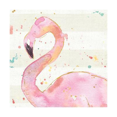 Flamingo Fever III no Words-Anne Tavoletti-Art Print