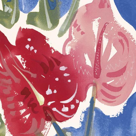 Flamingo Flower I-Alan Halliday-Giclee Print