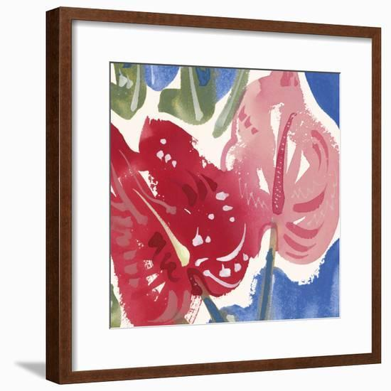 Flamingo Flower I-Alan Halliday-Framed Giclee Print