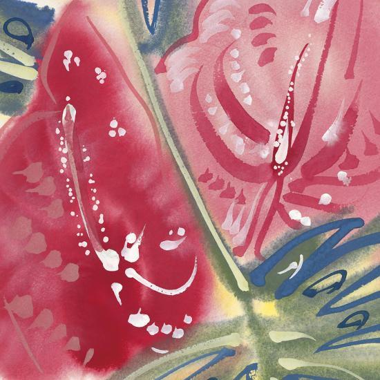 Flamingo Flower II-Alan Halliday-Giclee Print