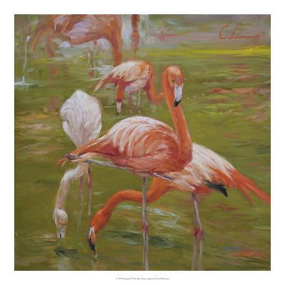 Flamingo I-Chuck Larivey-Giclee Print