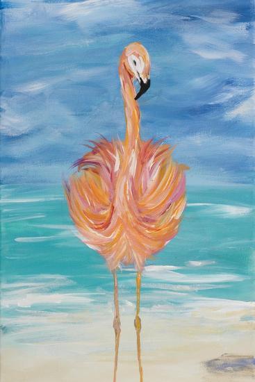 Flamingo I-Julie DeRice-Premium Giclee Print