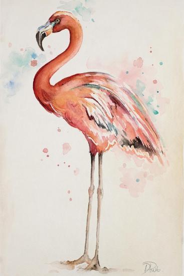 Flamingo I-Patricia Pinto-Art Print