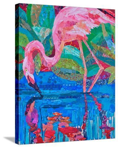 Flamingo II--Stretched Canvas Print