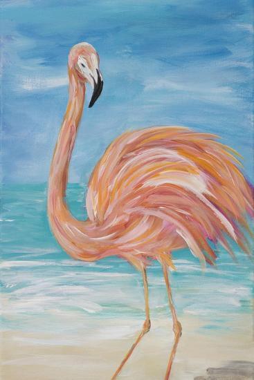 Flamingo II-Julie DeRice-Premium Giclee Print