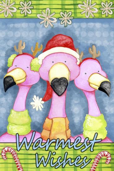 Flamingo Party-Valarie Wade-Giclee Print