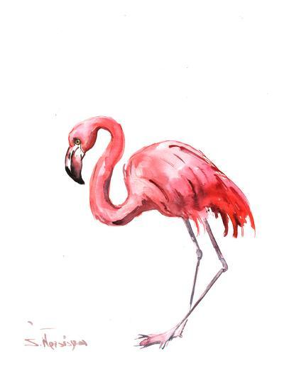Flamingo Pink-Suren Nersisyan-Art Print
