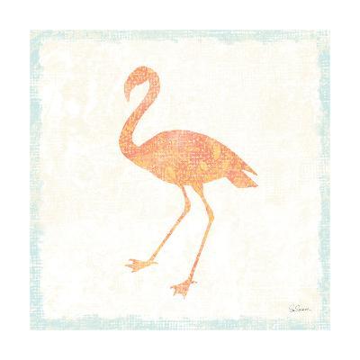 Flamingo Tropicale VI-Sue Schlabach-Art Print