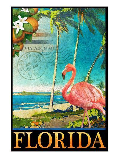 Flamingo-Chris Vest-Art Print