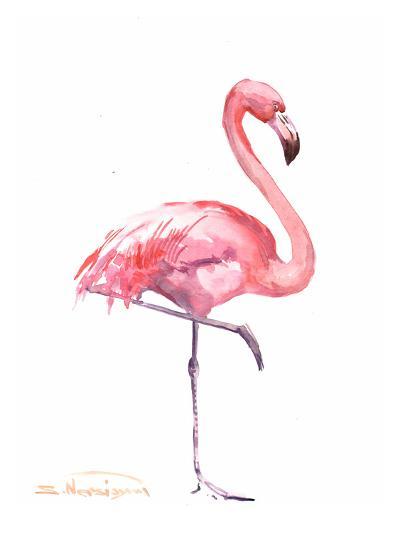 Flamingos 2-Suren Nersisyan-Art Print
