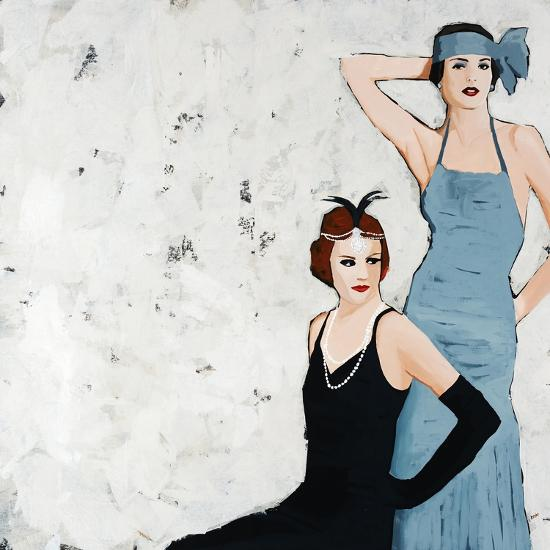 Flappers-Clayton Rabo-Giclee Print