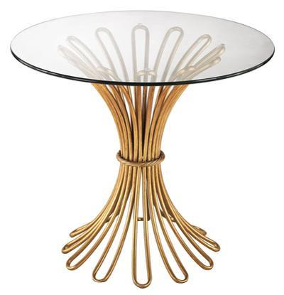 Flared Rope Side Table