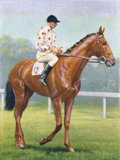 Flares, Jockey: R.A. Jones', 1939-Unknown-Giclee Print