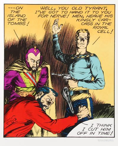 Flash Gordon, Old Tyrant-Alex Raymond-Collectable Print