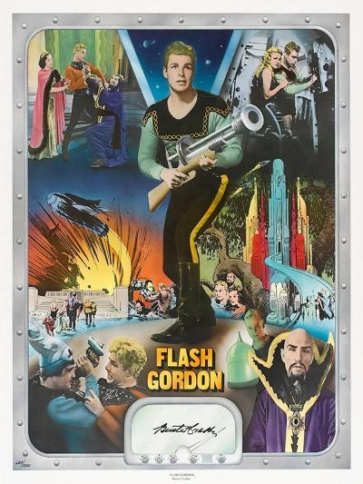 """Flash Gordon: Space Soldiers, 1936, """"Flash Gordon"""" Directed by Ray Taylor, Frederick Stephani--Giclee Print"""