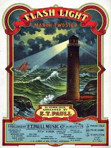 """Flash Light"" from the Sheet Music Collection at National Museum of American History"
