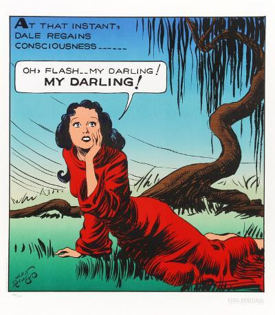 Flash, My Darling-Alex Raymond-Collectable Print
