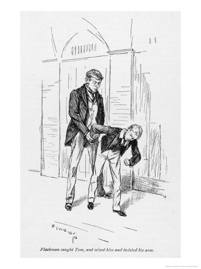 Flashman and Tom-Edmund J^ Sullivan-Giclee Print