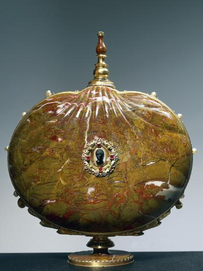 Flask Once Belonging to Catherine De Medici with Medallion Depicting Moor's Head--Giclee Print