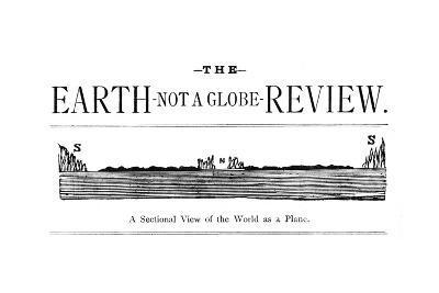 Flat Earth Magazine--Giclee Print