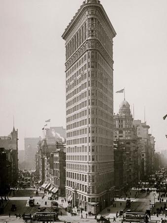 Flat-Iron I.E. Flatiron Building, New York, N.Y.