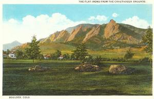 Flat Irons, Boulder, Colorado