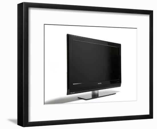 Flat-screen Television-Victor De Schwanberg-Framed Photographic Print