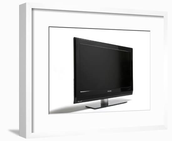 Flat-screen Television-Victor De Schwanberg-Framed Photographic Print