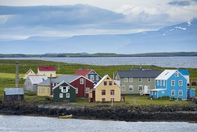 Flatey Island in the Breidafjordur Area of the Westfjords, Iceland-Michael Melford-Photographic Print