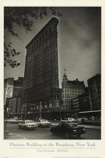 Flatiron Building At Broadway-Ralph Uicker-Art Print