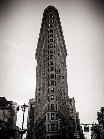 Flatiron Building Facade-Philippe Hugonnard-Photographic Print