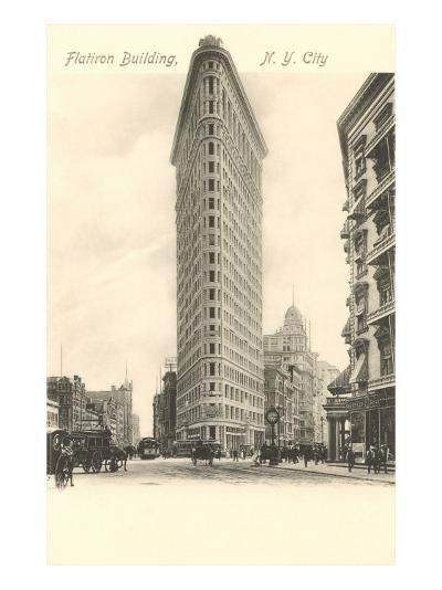 Flatiron Building, New York City--Art Print