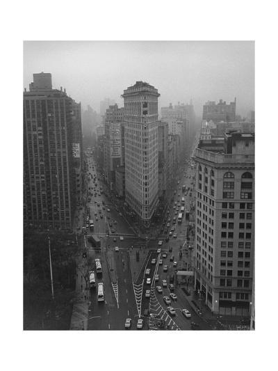 Flatiron Building, New York City-Henri Silberman-Photographic Print