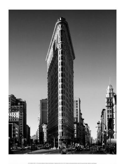 Flatiron Building, New York-Henri Silberman-Art Print
