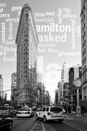 Flatiron Building - Taxi Cabs Yellow - Manhattan - New York City - United States-Philippe Hugonnard-Photographic Print