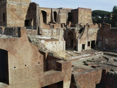 Flavian Palace, also known as Domus Flavia on Palatine Hill, Rome, Lazio, Italy Ad--Giclee Print