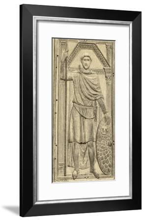 Flavius Aetius Roman Commander in the West Notable for His Defeat of Attila and the Huns--Framed Giclee Print