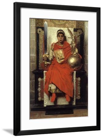 Flavius Honorius by Jean Paul Laurens--Framed Photographic Print