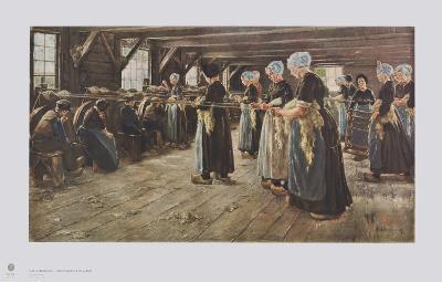 Flax Mill in Laren-Max Liebermann-Collectable Print