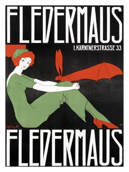 Fledermaus-Fritz Langer-Giclee Print