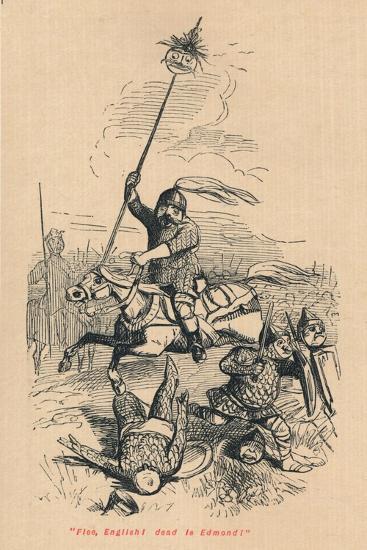 Flee, English! Dead is Edmond!', c1860, (c1860)-John Leech-Giclee Print