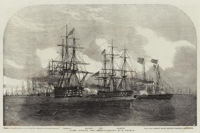 Fleet Forming Line Abreast-Edwin Weedon-Giclee Print