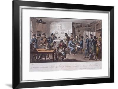 Fleet Prison, London, C1800--Framed Giclee Print