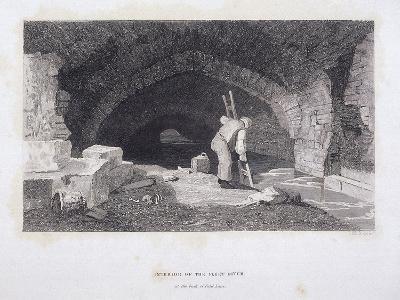 Fleet River, London, 1851-John Wykeham Archer-Giclee Print