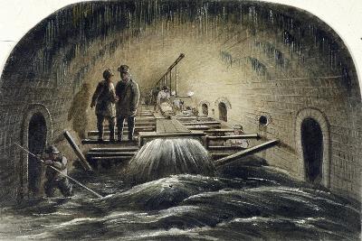 Fleet River, London, 1854--Giclee Print
