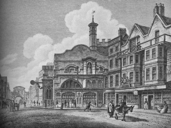 'Fleet Street in the Eighteenth Century', 1907-Unknown-Giclee Print