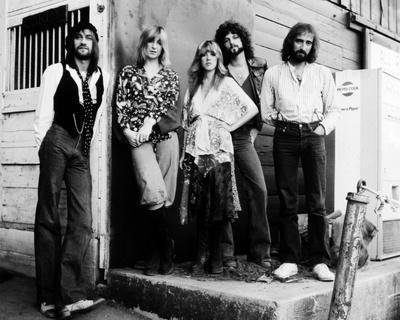 24x36 Stevie Nicks Poster Black and White Print Fleetwood Mac