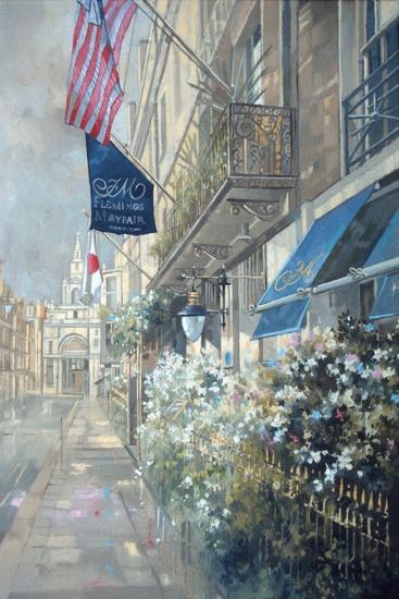 Flemings Hotel, Half Moon Street, London-Peter Miller-Giclee Print