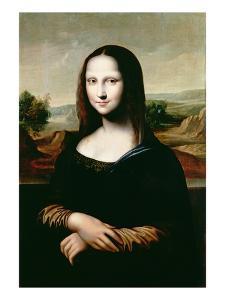 Mona Lisa, Copy of the Painting by Leonardo Da Vinci by Flemish