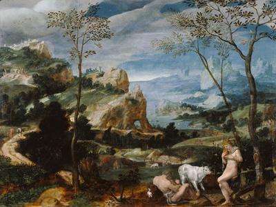 Landscape with Mercury and Argus, c.1570